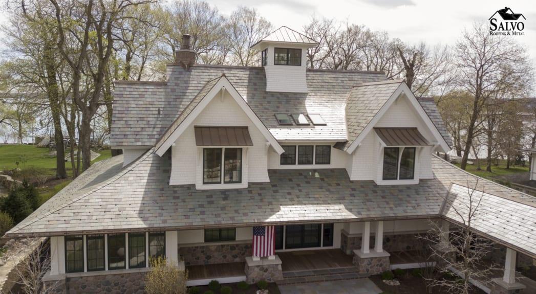 Hybrid Slate Roof