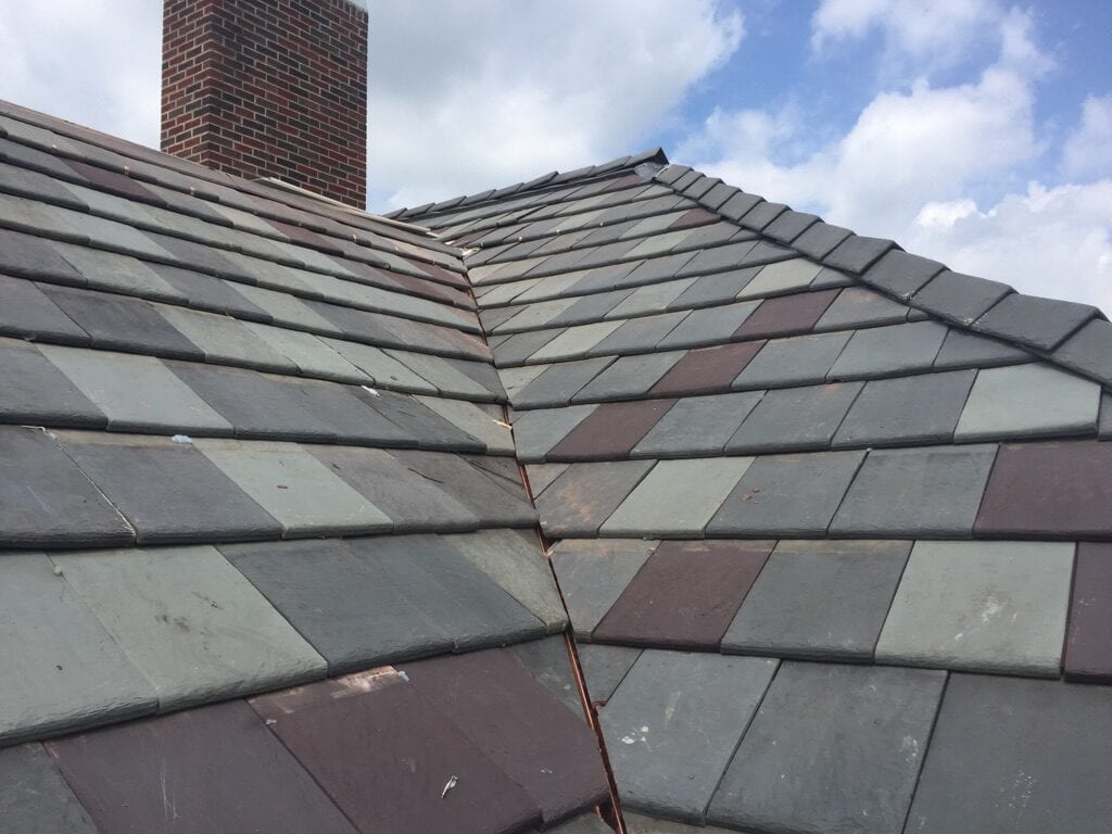 Synthetic Slate Roof