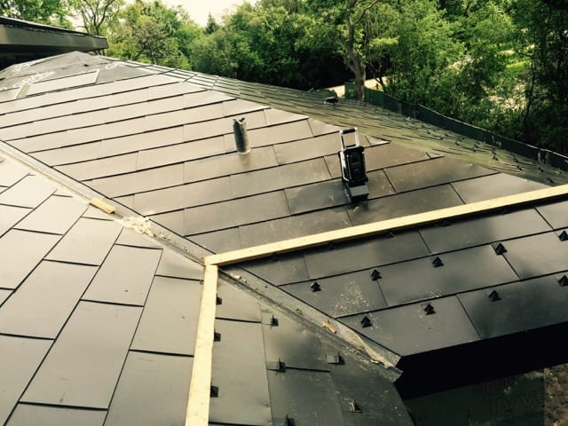 Metal Flat Lock Roof