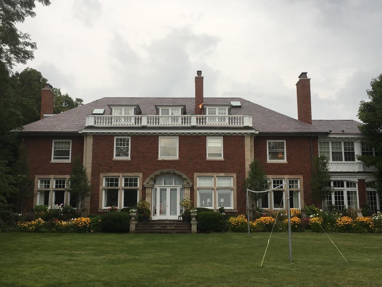 Vermont Purple Slate Roof