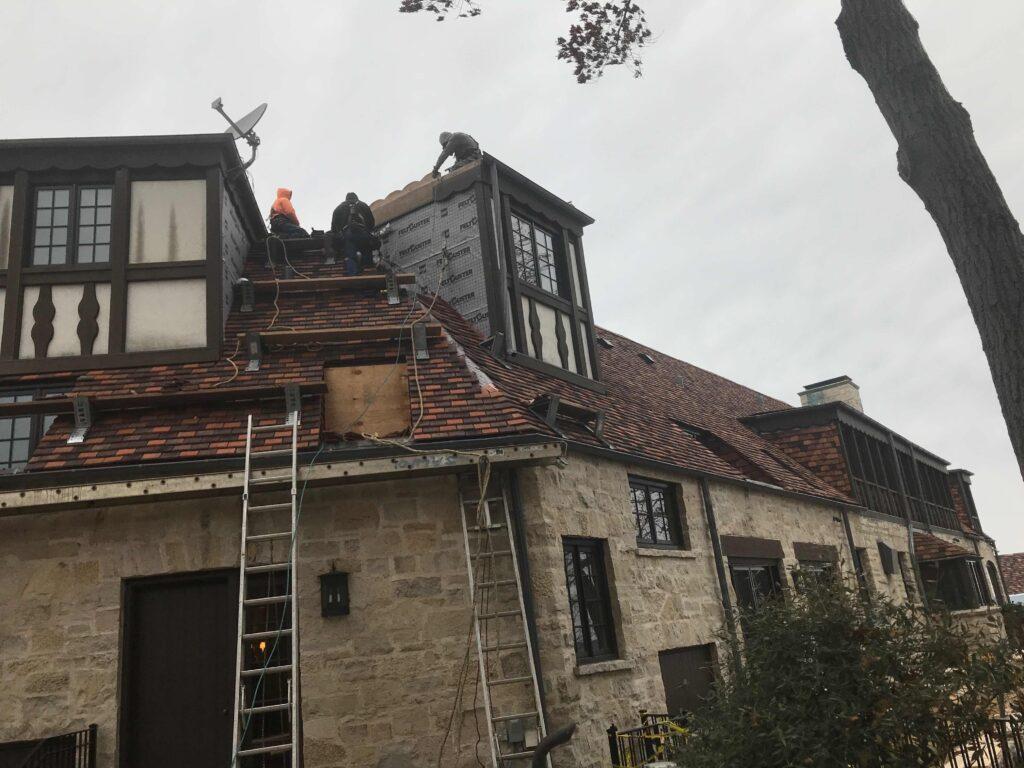 Shingle Tile Roof