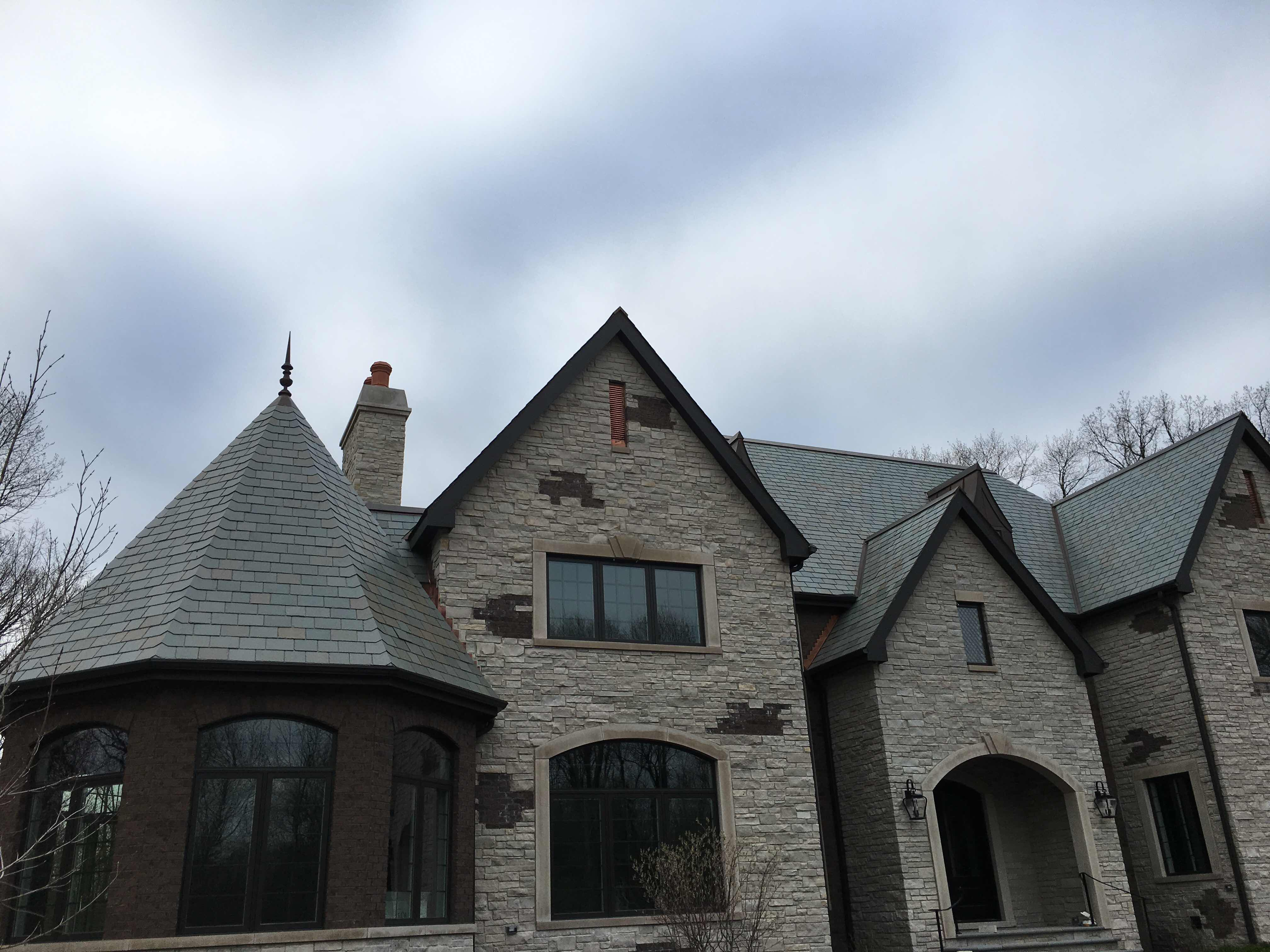 Slate Roof, Crown Point Indiana
