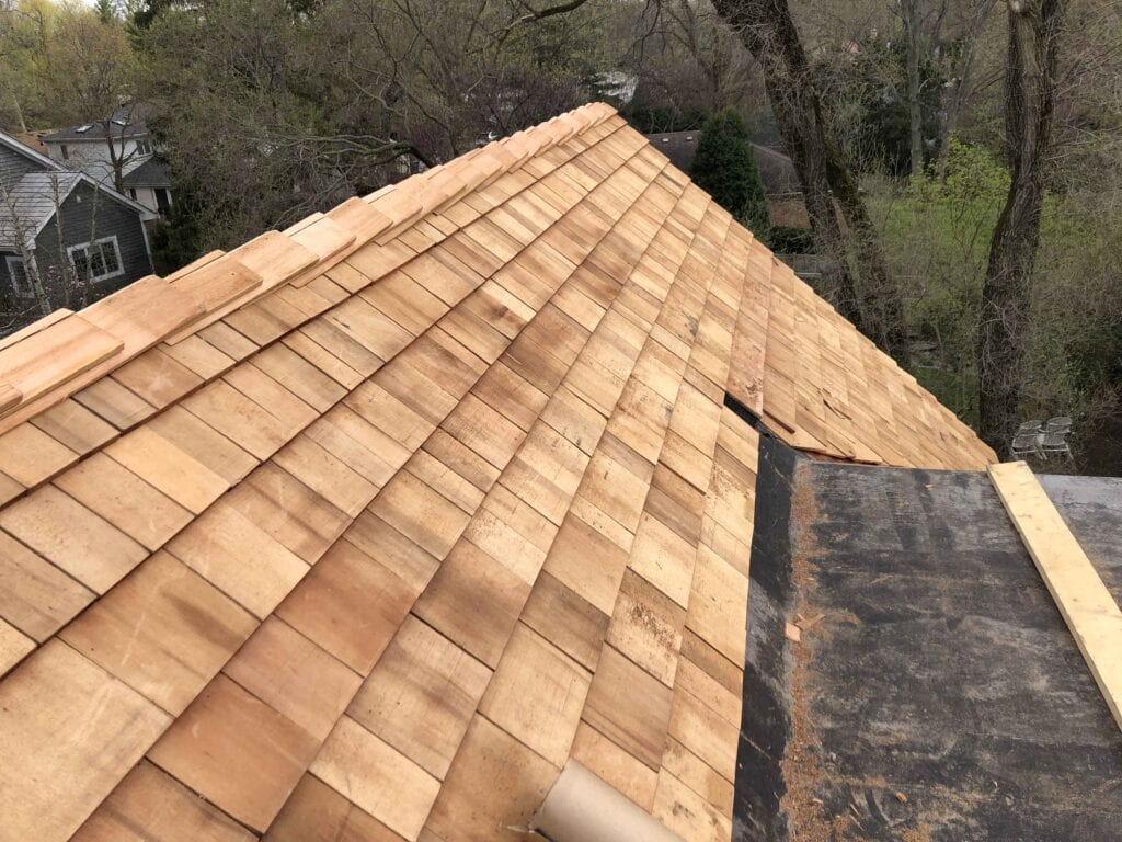 Perfection Cedar Shingle Install