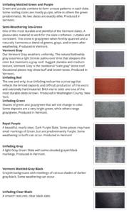 Camara Slate Colors